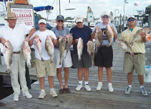 Fishing Charter Customers, Naples FL