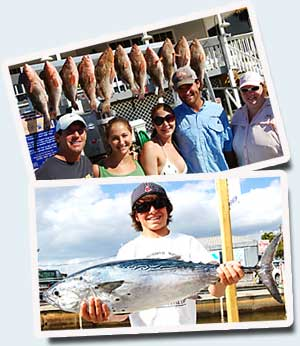 Fishing Charter Customers