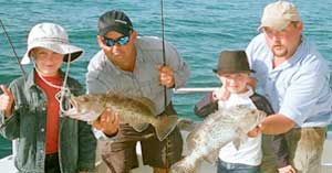 Kids Fishing in Naples FL