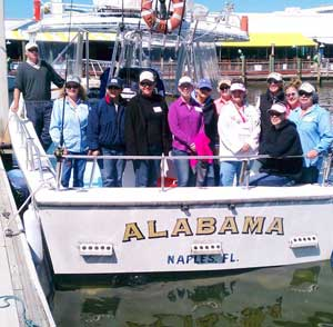 Fishing charter with Ladies Lets Go Fishing